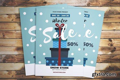 Winter Sale Flyer