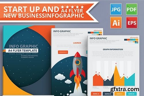 Start Up & New Business infographic 17 Pages