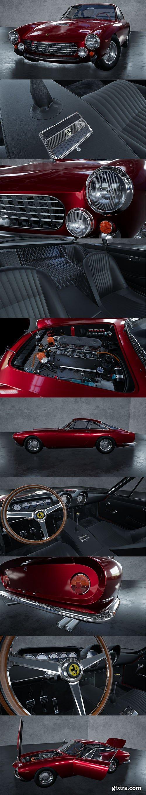 Cubebrush - 1962 Ferrari 250 GT Berlinetta Lusso