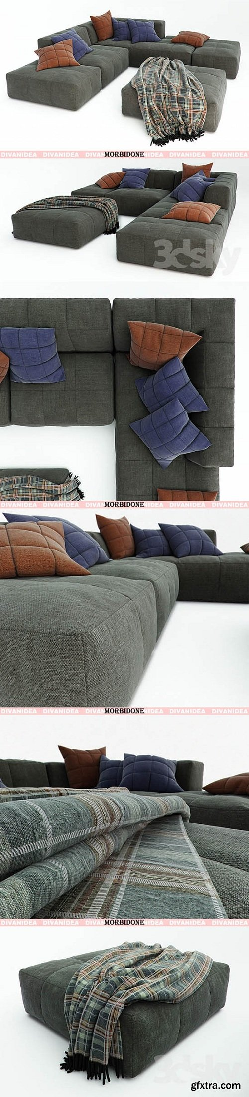 Divanidea MORBIDONE Sofa