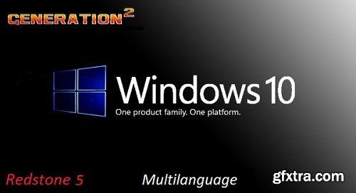Windows 10 Pro x64 3in1 Redstone 5 1809 Build 17763.134 OEM November 2018