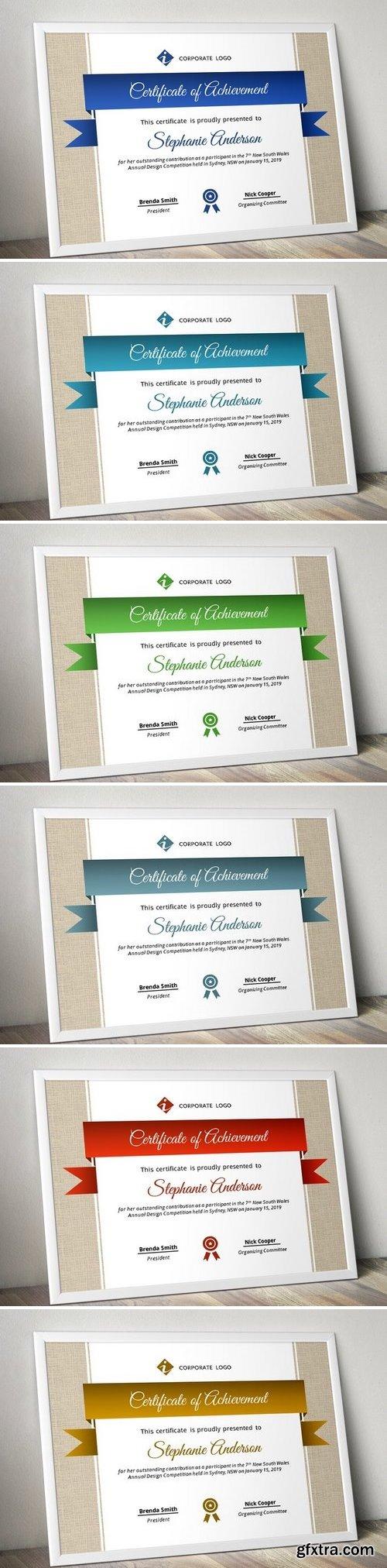 CM - Burlap certificate template (pptx) 1566739