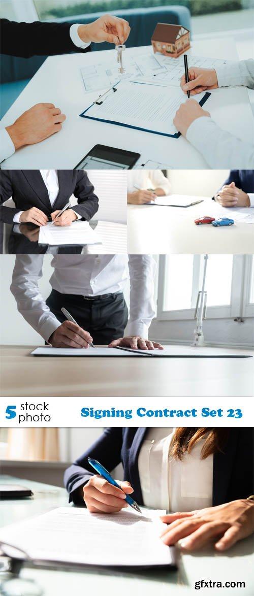 Photos - Signing Contract Set 23