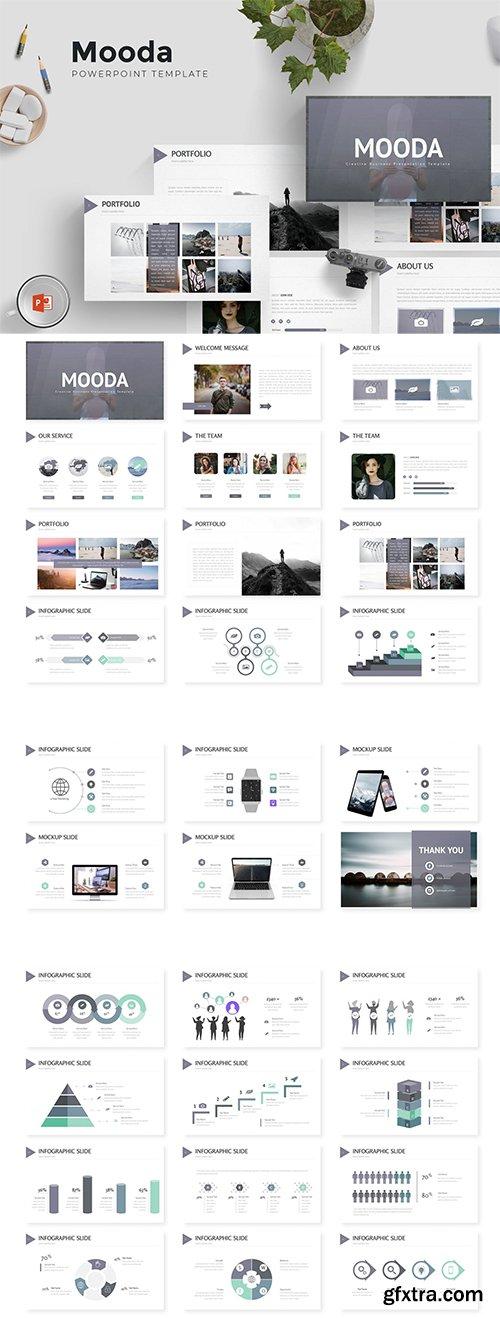 Mooda - Powerpoint, Keynote and Google Sliders