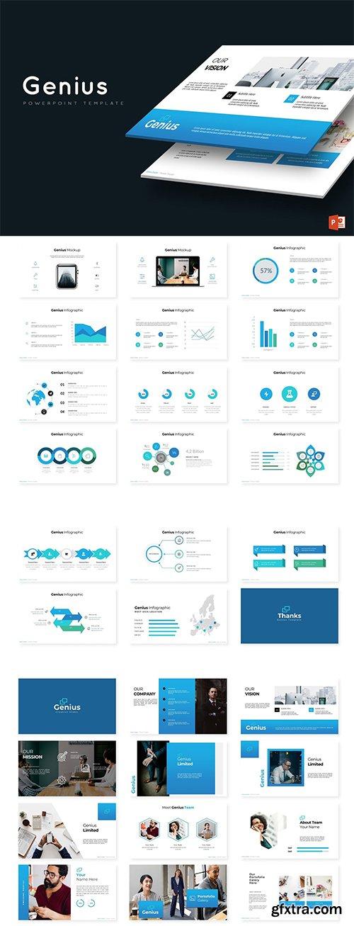 Genius - Powerpoint, Keynote and Google Sliders