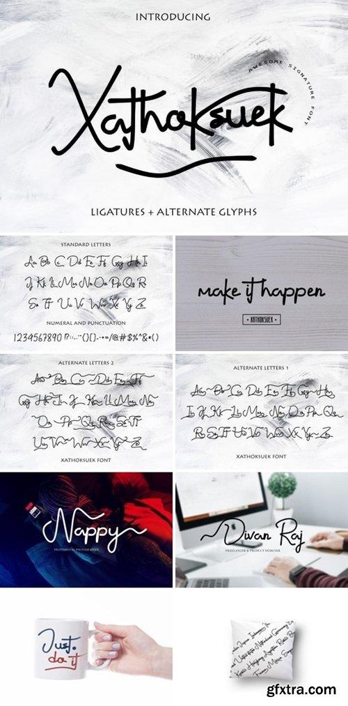 Xathoksuek Font