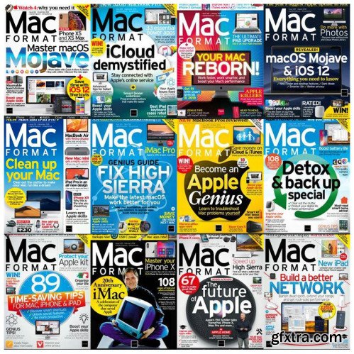 MacFormat UK - 2018 Full Year Issues Collection