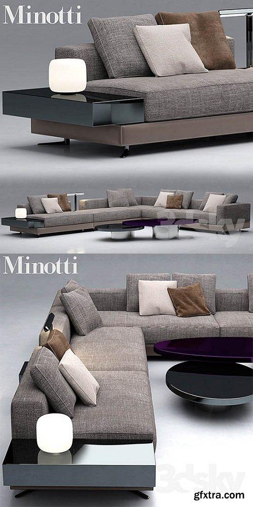 Sofa minotti sofas white