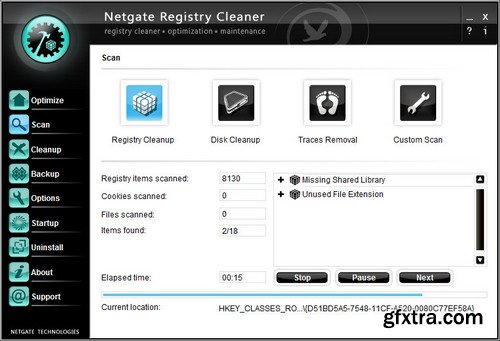 NETGATE Registry Cleaner 18.0.260 Multilingual Portable