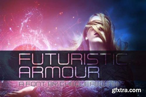 Futuristic Armour Font