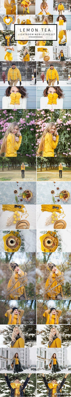 CreativeMarket - Mobile Lightroom Preset LEMON TEA 3161567
