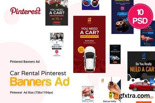 Car Rental Pinterest Ad