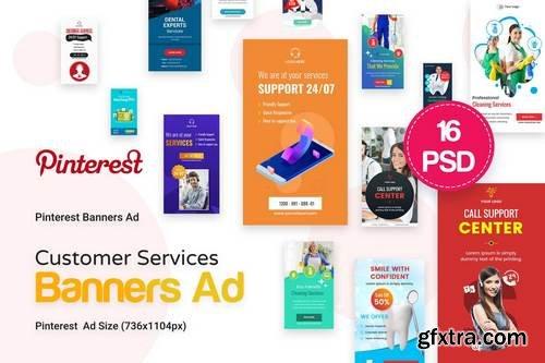 Pinterest Customer Services Ad