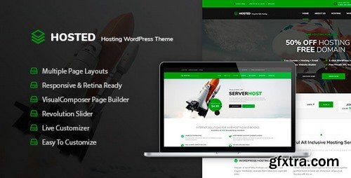ThemeForest - Hosted v1.0.2 - WordPress Hosting Theme + WHMCS - 20101377