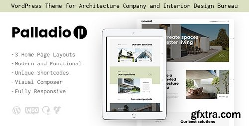 ThemeForest - Palladio v1.1 - Interior Design & Architecture WordPress Theme - 20830679