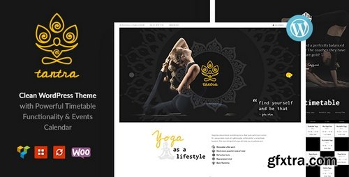 ThemeForest - Tantra v1.0 - A Yoga Studio and Fitness Club WordPress Theme - 20884802