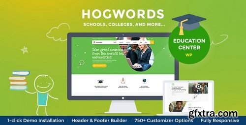 ThemeForest - Hogwords v1.0.0 - Education Center WordPress Theme - 21376785