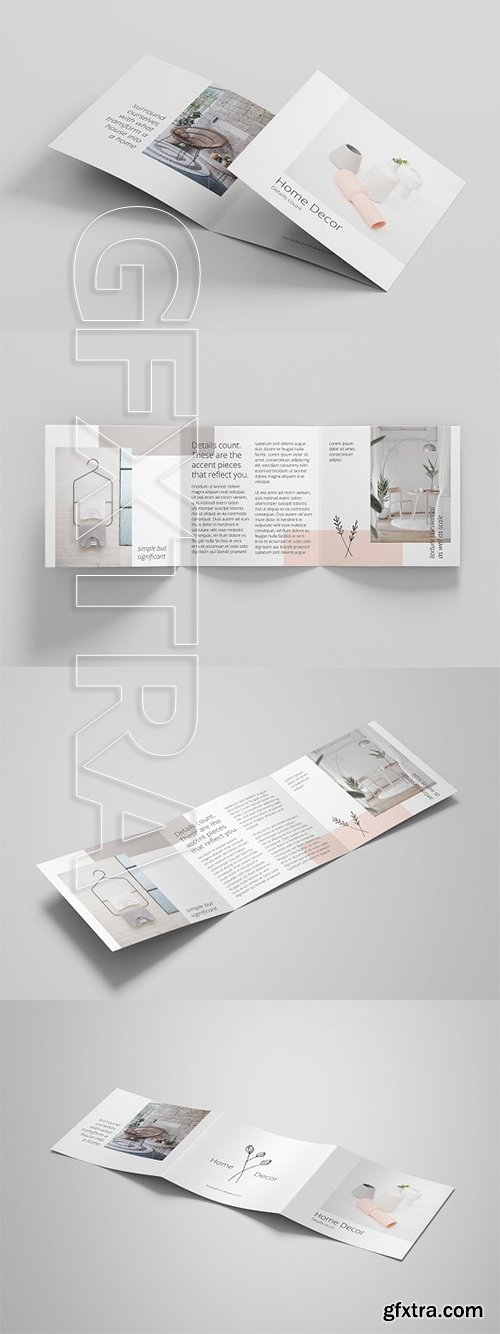 CreativeMarket - Minimal Brochure Template 2992951