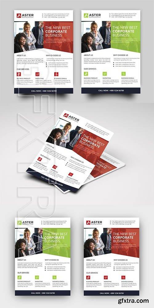 CreativeMarket - Corporate Business Flyer 2843444