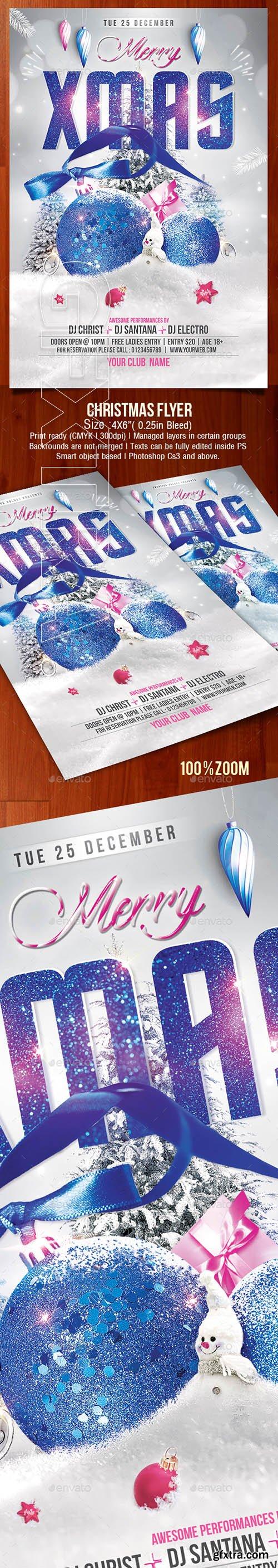 GraphicRiver - Christmas Flyer 22830318