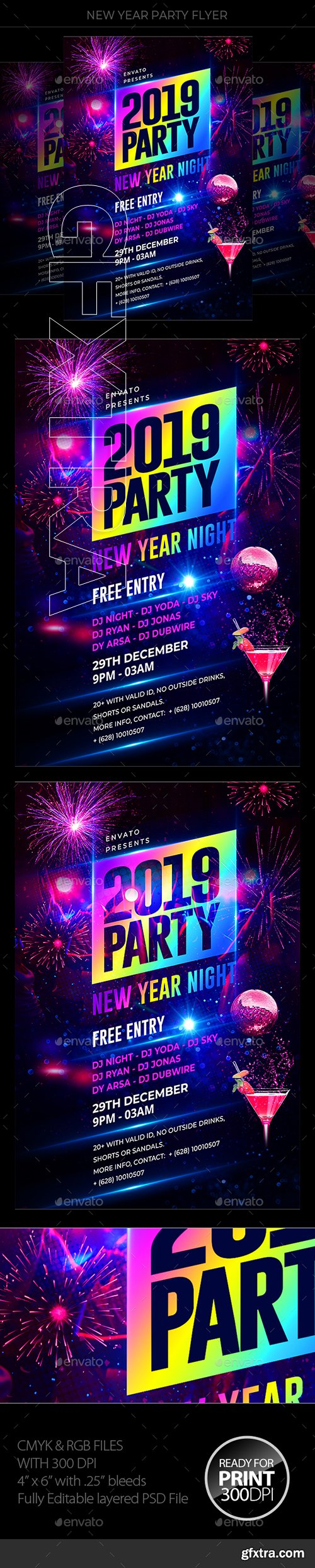 GraphicRiver - New Years Eve 22830135