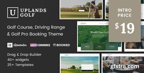 ThemeForest - Uplands v1.1 - Golf Course WordPress Theme - 22776390