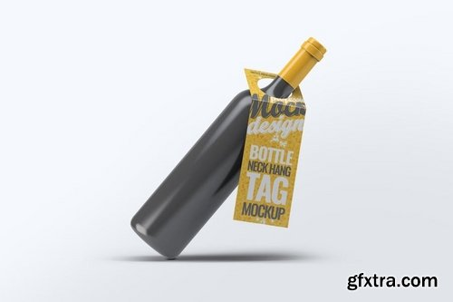 Bottleneck Hanger Tag Mock-Up