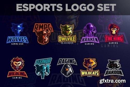 Esports Animals Logo Set