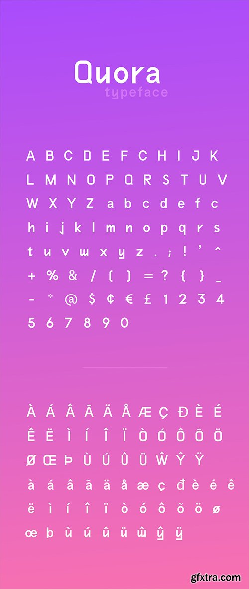 Quora Typeface