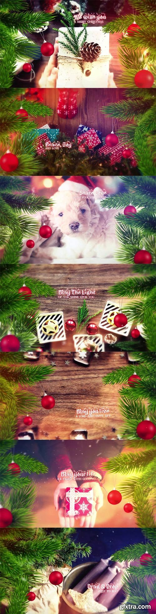 Videohive - Christmas Slideshow - 22832058