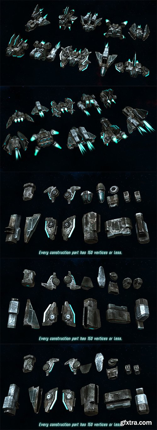 Cubebrush - Spaceships Constructor 2
