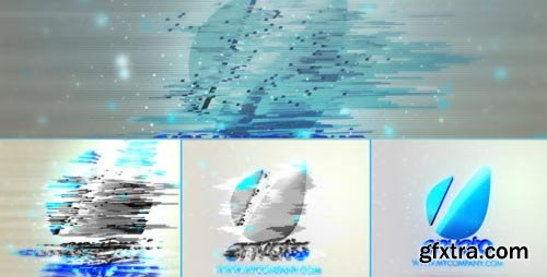 Videohive - Bad Signal 3D Shattered Logo - 3120919