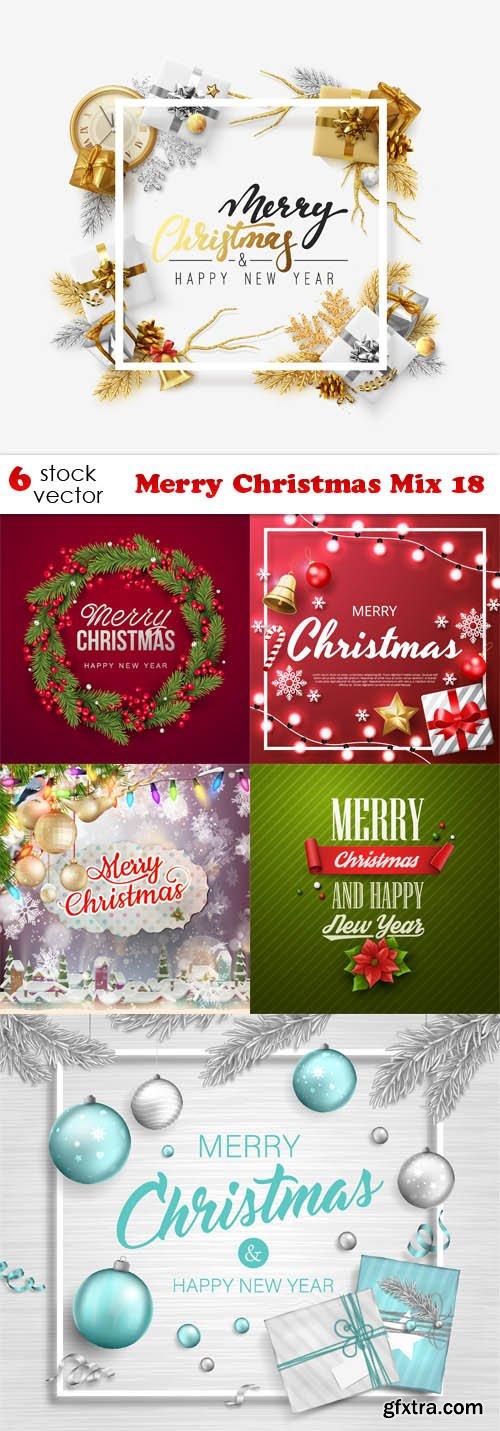 Vectors - Merry Christmas Mix 18