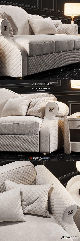 ESTETICA Palladium Sofa
