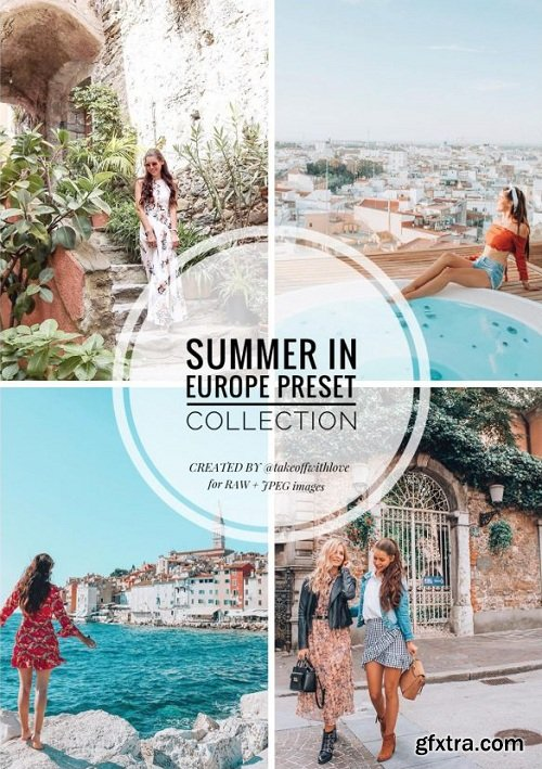Takeoff With Love - Summer in Europe Collection