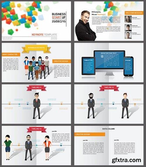 Business Character Keynote Presentation