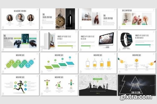 Forest - Powerpoint Keynote and Google Slides Templates