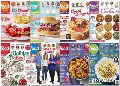 Food Network - 2018 Full Year Issues Collection