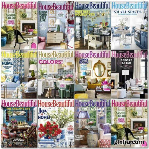 House Beautiful USA - 2018 Full Year Issues Collection