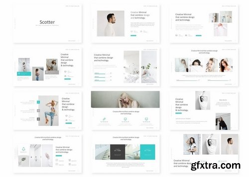 Scotter - Powerpoint Keynote and Google Slides Templates