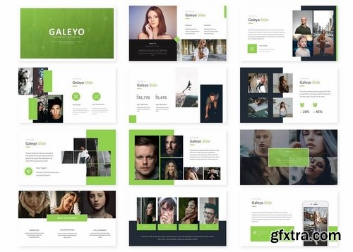 Galeyo - Powerpoint Keynote and Google Slides Templates