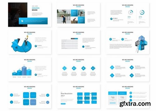 Grippex - Powerpoint Keynote and Google Slides Templates
