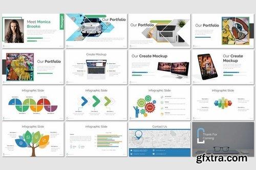 Calva - Powerpoint Keynote and Google Slides Templates