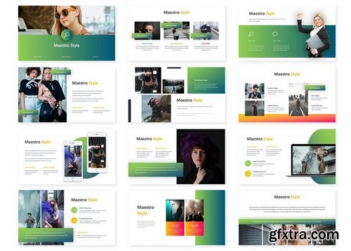 Maestro - Powerpoint Keynote and Google Slides Templates