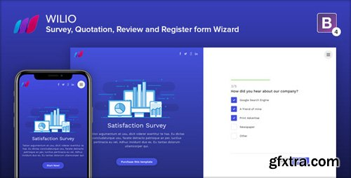ThemeForest - Wilio v1.0 - Survey and Multipurpose Form Wizard - 22864819