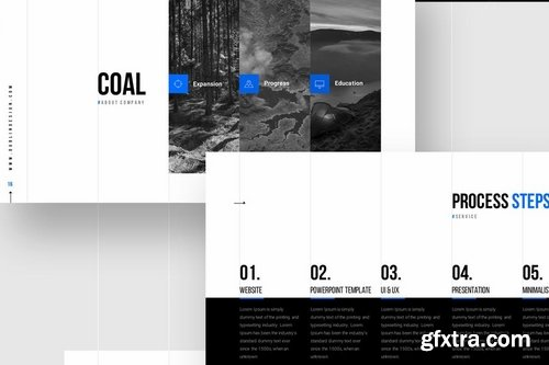 GRIDS - Powerpoint and Google Slides Templates