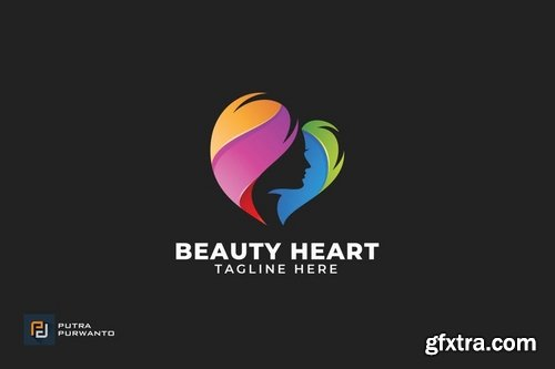 Beauty Heart - Logo Template