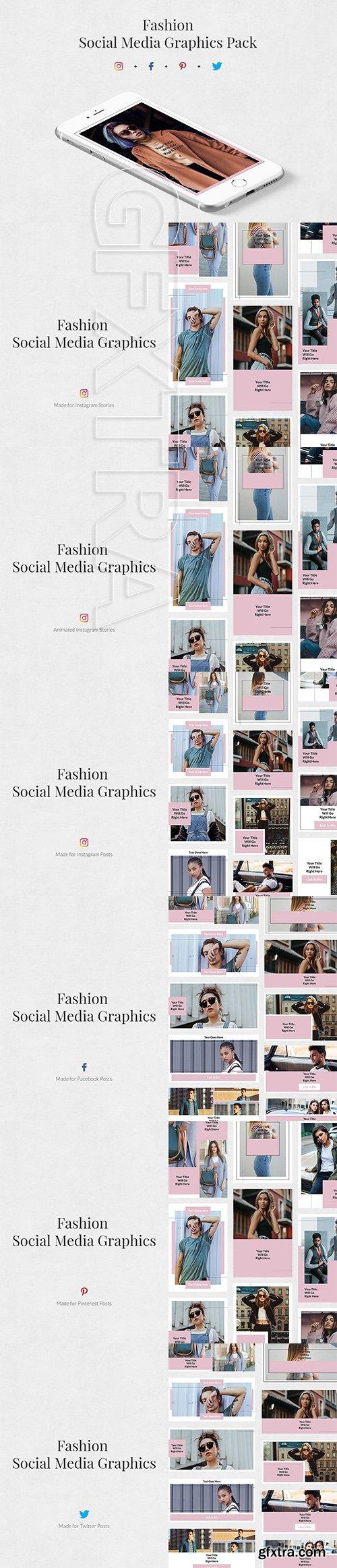 CreativeMarket - Fashion Pack 3170752
