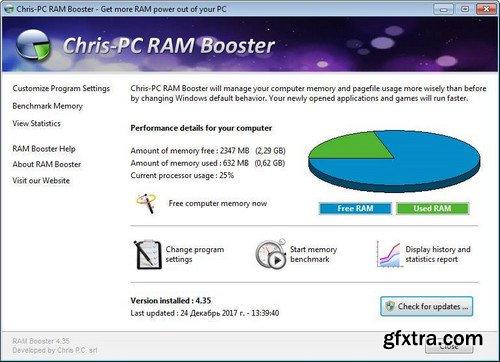 Chris-PC RAM Booster 4.80