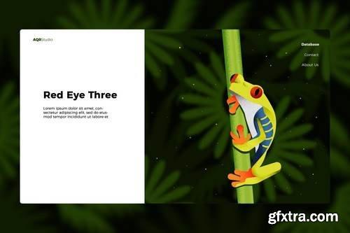 Frog - Banner & Landing Page